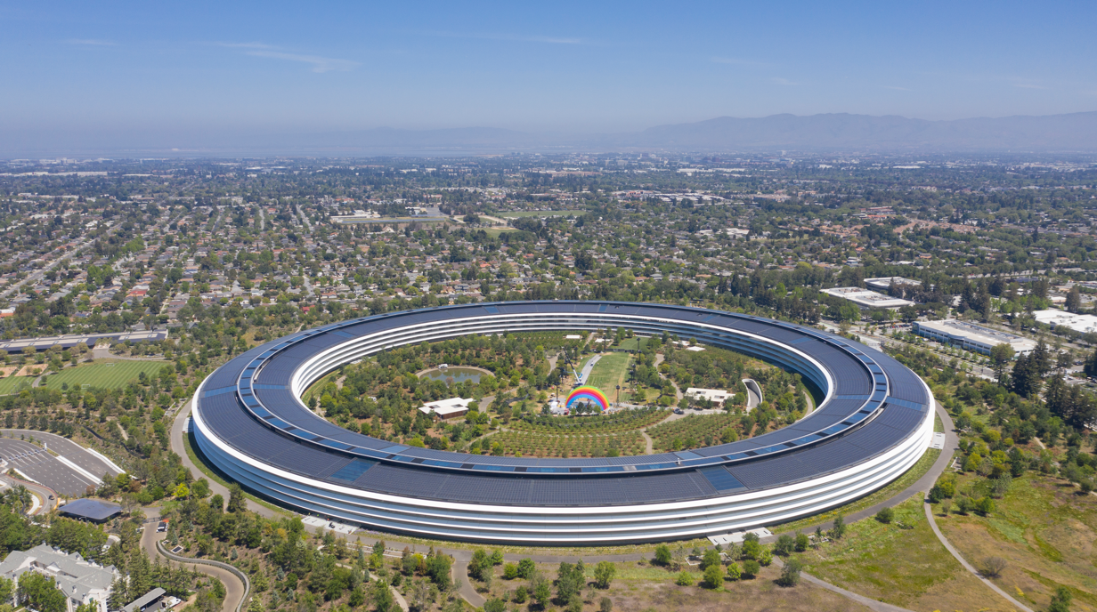 Apple Park, Cupertino, CA. Foster + Partners, 2017.